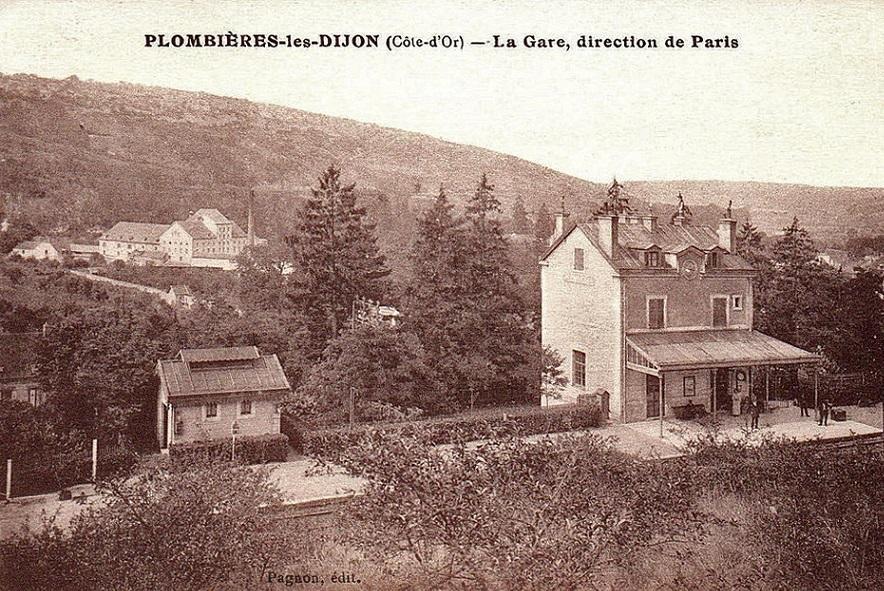 Gare de Plombières-lès_Dijon