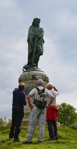 La statue de Vercingétorix